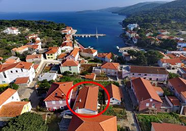 Property Božava (Dugi otok) - Accommodation 8097 - Apartments near sea.