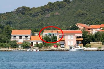 Property Verunić (Dugi otok) - Accommodation 8104 - Apartments near sea with pebble beach.