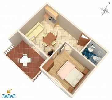Apartament A-8144-a - Kwatery Zaglav (Dugi otok) - 8144