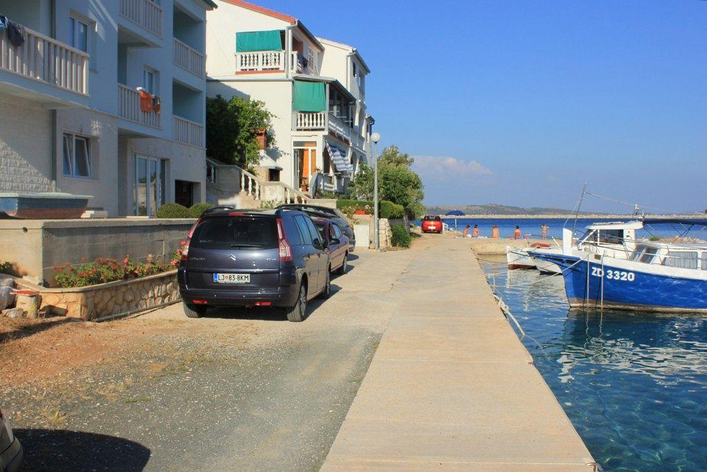 Apartmán na pláži v meste Zaglav - 8144