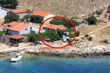 Property Uvala Statival (Kornati) - Accommodation 8164 - Vacation Rentals near sea with sandy beach.