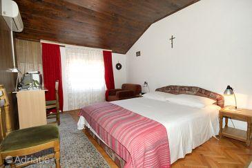 Preko, Bedroom u smještaju tipa room, dostupna klima i WIFI.