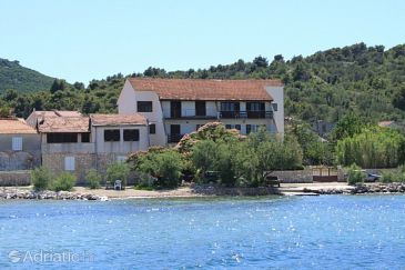 Property Banj (Pašman) - Accommodation 8205 - Apartments near sea with pebble beach.
