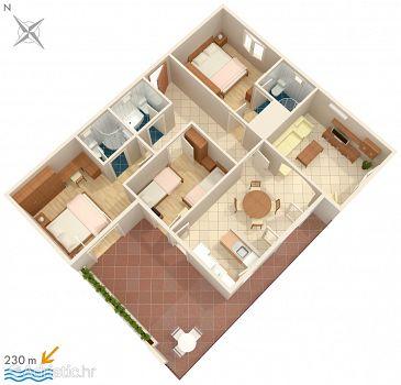 Apartment A-8335-b - Apartments Žrnovska Banja (Korčula) - 8335