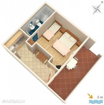 Apartment A-8341-b - Apartments Zaklopatica (Lastovo) - 8341