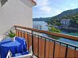 Balcony - Studio flat AS-8351-a - Apartments Pasadur (Lastovo) - 8351