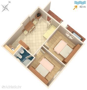 Apartment A-8364-a - Apartments Bilo (Primošten) - 8364