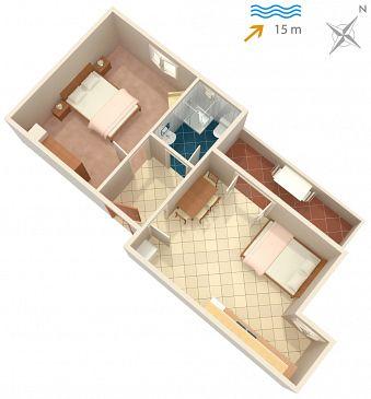 Apartment A-837-b - Apartments Kali (Ugljan) - 837