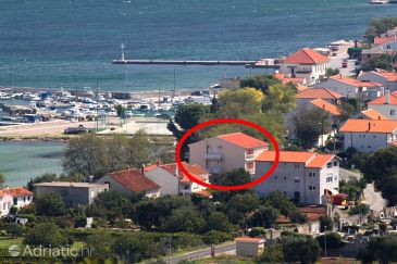 Property Tkon (Pašman) - Accommodation 8377 - Apartments and Rooms near sea with sandy beach.