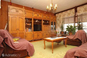 Ugljan, Living room u smještaju tipa apartment, dopusteni kucni ljubimci.