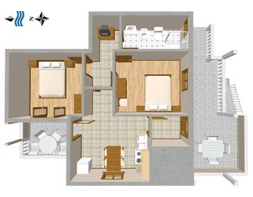 Apartment A-841-a - Apartments Sušica (Ugljan) - 841