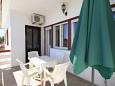 Ugljan, Terrace u smještaju tipa apartment, s pogledom na more i WIFI.
