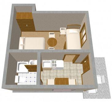 Apartament A-850-a - Apartamenty Sveti Filip i Jakov (Biograd) - 850