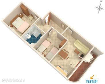 Apartment A-8507-a - Apartments Seget Vranjica (Trogir) - 8507