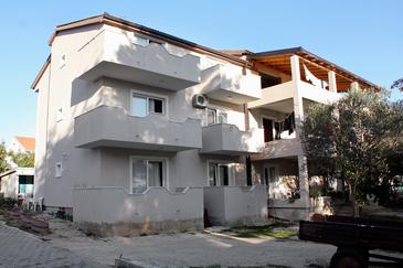 Property Turanj (Biograd) - Accommodation 852 - Apartments near sea with pebble beach.