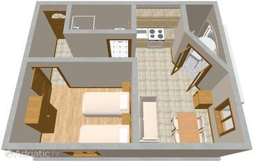 Apartment A-854-d - Apartments Drage (Biograd) - 854