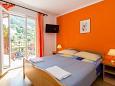 Bedroom 2 - Apartment A-8543-a - Apartments Mlini (Dubrovnik) - 8543