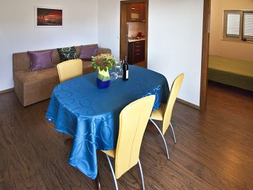Dubrovnik, Esszimmer in folgender Unterkunftsart apartment, WIFI.