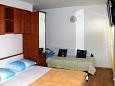 Bedroom - Studio flat AS-859-c - Apartments Biograd na Moru (Biograd) - 859