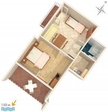 Apartament A-862-b - Apartamenty Biograd na Moru (Biograd) - 862
