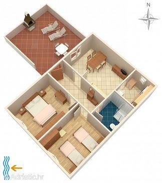 Apartment A-8623-a - Apartments Seget Vranjica (Trogir) - 8623