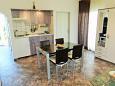 Okrug Gornji, Dining room u smještaju tipa apartment, dopusteni kucni ljubimci i WIFI.