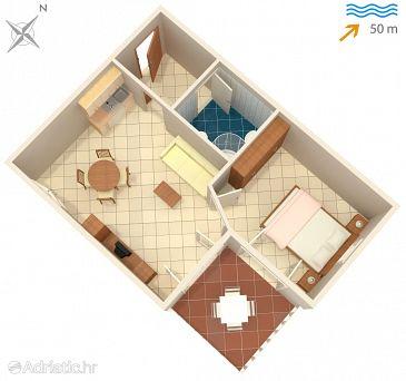 Apartment A-8625-b - Apartments Okrug Gornji (Čiovo) - 8625