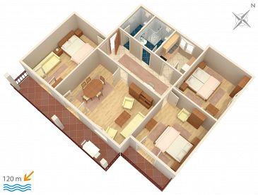 Apartament A-863-a - Apartamenty Biograd na Moru (Biograd) - 863