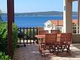 Terrace - Apartment A-8637-b - Apartments Zavala (Hvar) - 8637