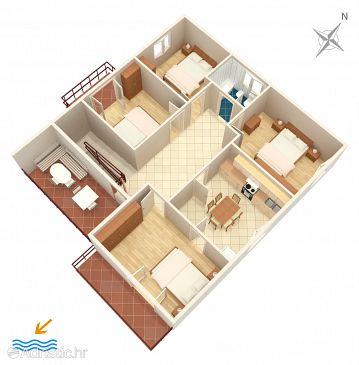 Apartment A-865-a - Apartments Biograd na Moru (Biograd) - 865