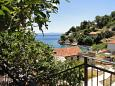 Terrace - view - Studio flat AS-8653-a - Apartments Uvala Torac (Hvar) - 8653