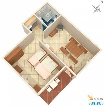 Apartament A-867-b - Apartamenty Punta križa (Cres) - 867