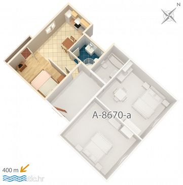 Studio flat AS-8670-a - Apartments Split (Split) - 8670