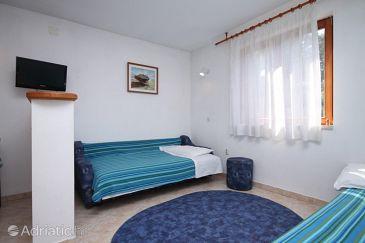 Zavala, Living room u smještaju tipa apartment, dopusteni kucni ljubimci i WIFI.