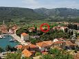 Property Jelsa (Hvar) - Accommodation 8713 - Apartments with pebble beach.