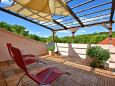 Terrace 1 - House K-8731 - Vacation Rentals Basina (Hvar) - 8731