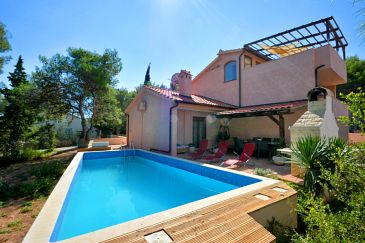 Property Basina (Hvar) - Accommodation 8731 - Vacation Rentals with pebble beach.