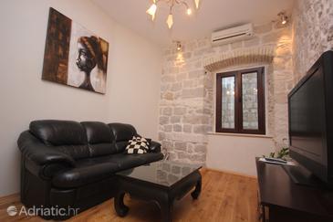 Dubrovnik, Living room u smještaju tipa apartment, dostupna klima, dopusteni kucni ljubimci i WIFI.