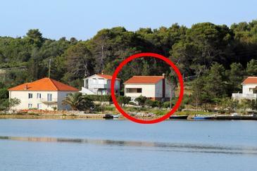 Obiekt Veli Rat (Dugi otok) - Zakwaterowanie 875 - Willa blisko morza z kamienistą plażą.