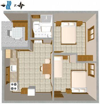 Dom K-876 - Willa Telašćica - Uvala Jaz (Dugi otok) - 876