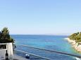 Balcony - view - Apartment A-8761-e - Apartments Uvala Zastupac (Hvar) - 8761