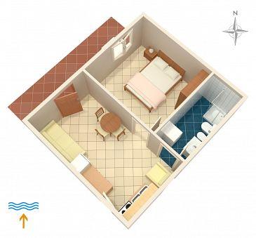 Apartament A-878-b - Apartamenty Zaglav (Dugi otok) - 878