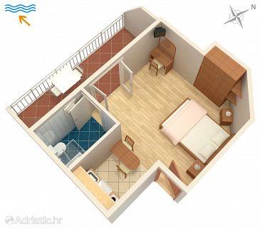 Studio flat AS-8785-a - Apartments and Rooms Hvar (Hvar) - 8785