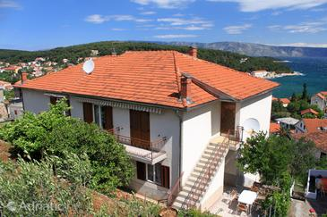 Property Jelsa (Hvar) - Accommodation 8798 - Apartments and Rooms with pebble beach.