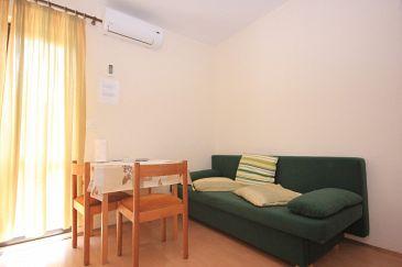 Soline, Dining room u smještaju tipa apartment, dostupna klima i WIFI.