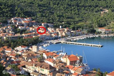 Property Vis (Vis) - Accommodation 8842 - Apartments near sea with pebble beach.