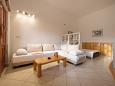 Komiža, Living room u smještaju tipa studio-apartment, dostupna klima i WIFI.