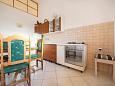 Komiža, Kitchen u smještaju tipa studio-apartment, WIFI.