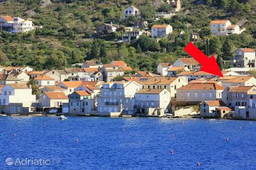 Property Vis (Vis) - Accommodation 8907 - Vacation Rentals near sea with pebble beach.