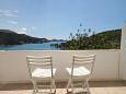 Zaton Mali, Balcony 1 u smještaju tipa apartment, s pogledom na more, dopusteni kucni ljubimci i WIFI.